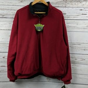 NWT..Wedge reversible fleece 1/4 zip jacket